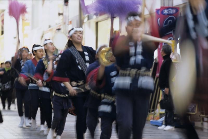 武蔵小山商店街 和太鼓「鼓遊」