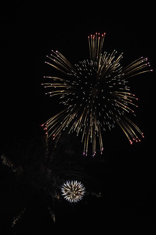 荒川の花火