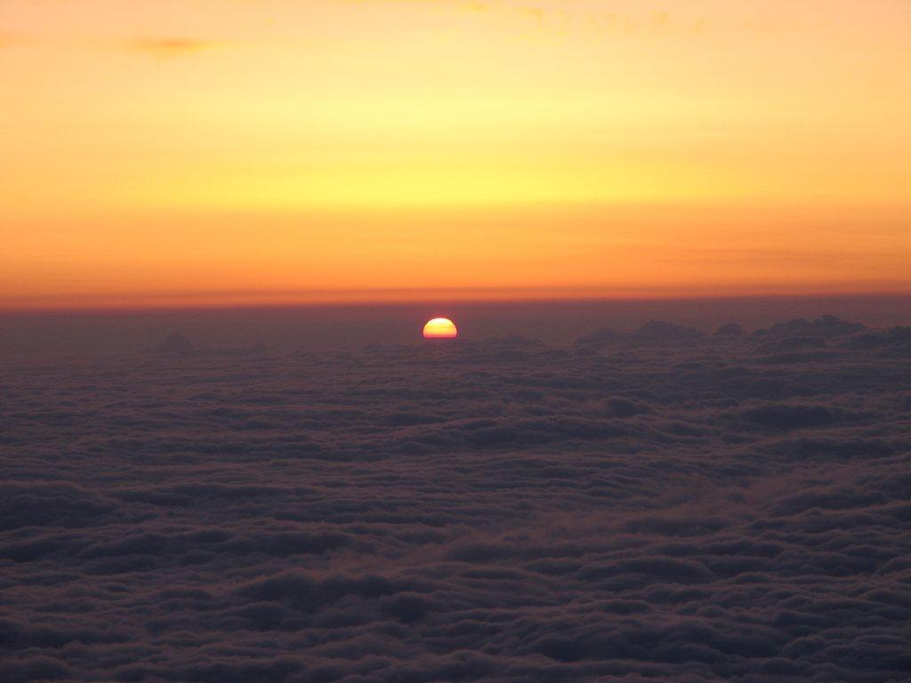雲海のご来光